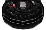 Car Stock 2020 Chevrolet Camaro 2SS 2 Door Coupe Engine  high angle detail view