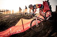 Belgian National Champion Sanne Cant (BEL/Iko-Crelan)<br /> <br /> Jaarmarktcross Niel (BEL) 2020<br /> Womens Race<br /> <br /> ©kramon