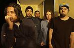 Various portraits of the rock band, Deftones