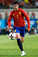 Alvaro Morata of Spain during the friendly match between Spain and Colombia at Nueva Condomina Stadium in Murcia, jun 07, 2017. Spain. (ALTERPHOTOS/Rodrigo Jimenez) (NortePhoto.com) (NortePhoto.com)