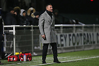 Romford manager Glenn Tamplin during Romford vs Brentwood Town, BetVictor League North Division Football at Parkside on 11th February 2020