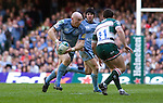 Cardiff Blues v Leicester Tigers - Heineken Cup Semi-Final at the Millennium Stadium in Cardiff..Cardiff''s Tom Shanklin..