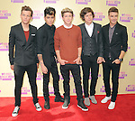 One Direction at The 2012 MTV Video Music Awards held at Staples Center in Los Angeles, California on September 06,2012                                                                   Copyright 2012  DVS / Hollywood Press Agency