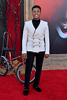 """LOS ANGELES, USA. August 27, 2019: Chosen Jacobs at the premiere of """"IT Chapter Two"""" at the Regency Village Theatre.<br /> Picture: Paul Smith/Featureflash"""