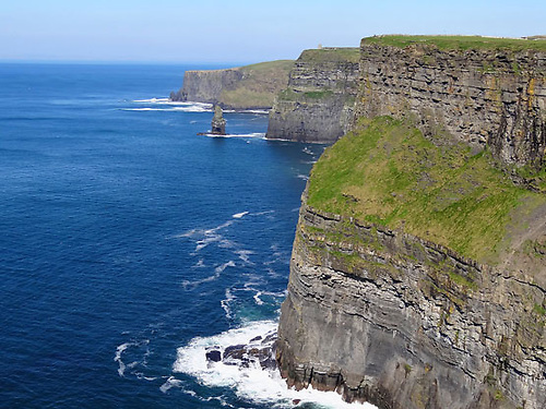 The Cliffs of Moher in North Clare