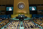 General Assembly Seventy-fourth session, 7th plenary meeting<br /> <br /> <br /> Saudi Arabia