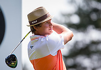 Tapio Pulkkanen (Finland) during Practice Day at BMW PGA Championship Wentworth Golf at Wentworth Drive, Virginia Water, England on 22 May 2018. Photo by Andy Rowland.