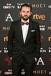 Julian Lopez attends 30th Goya Awards red carpet in Madrid, Spain. February 06, 2016. (ALTERPHOTOS/Victor Blanco)