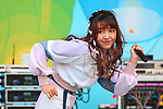 Jane, Girl pop group BNK48 performs during the Thai Festival 2019 at Yoyogi Park in Tokyo, Japan on May 12, 2019. (Photo by AFLO)
