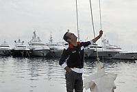 - S. Remo tourist port....- porto turistico di San Remo