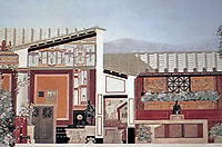 Jules-Leon Chifflot, House of the Centenarian, Pompeii Italy, 425 BCE - 79 CE
