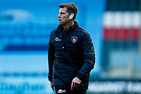 21st November 2020; Welford Road Stadium, Leicester, Midlands, England; Premiership Rugby, Leicester Tigers versus Gloucester Rugby; Leicester Tigers coach Brett Deacon during the pre-match warm-up