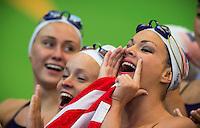 Supporters of JONES Christina and MAY Bill Team USA <br /> Synchro - Mixed Duet technical preliminaries<br /> Day 02 25/07/2015<br /> XVI FINA World Championships Aquatics Swimming<br /> Kazan Tatarstan RUS July 24 - Aug. 9 2015 <br /> Photo Giorgio Perottino/Deepbluemedia/Insidefoto