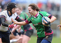 Tuesday 3rd April 2018 | Malone Women vs Ballynahinch Women<br /> <br /> Sara Topping during the Easter Tuesday Ulster Womens final between Malone and Ballynahinch at Kingspan Stadium, Ravenhill Park, Belfast, Northern Ireland. Photo by John Dickson / DICKSONDIGITAL