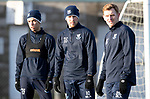 St Johnstone Training…19.12.18<br />Tristan Nydam, David Wotherspoon and Liam Craig pictured during training at McDiarmid Park ahead of Sunday's game against Rangers<br />Picture by Graeme Hart.<br />Copyright Perthshire Picture Agency<br />Tel: 01738 623350  Mobile: 07990 594431