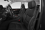 Front seat view of a 2015 Cadillac Escalade Premium 5 Door SUV 2WD Front Seat car photos