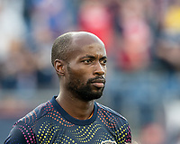 FOXBOROUGH, MA - JUNE 29: DeMarcus Beasley #7 during a game between Houston Dynamo and New England Revolution at Gillette Stadium on June 29, 2019 in Foxborough, Massachusetts.