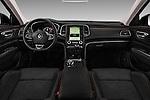 Stock photo of straight dashboard view of 2016 Renault Talisman Intens 4 Door Sedan Dashboard