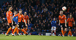 David Templeton blasts in the second goal for Rangers