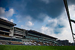 SHA TIN,HONG KONG-MAY 03: The stands viewing from the  inside rail at Sha Tin Racecourse on May 3,2017 in Sha Tin,New Territories,Hong Kong (Photo by Kaz Ishida/Eclipse Sportswire/Getty Images)