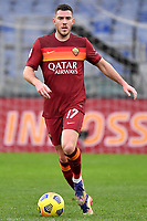 Jordan Veretout of AS Roma in action during the Serie A football match between AS Roma and FC Internazionale at Olimpico stadium in Roma (Italy), January 10th, 2021. Photo Andrea Staccioli / Insidefoto