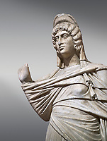 Roman statue of Julia Domina . Marble. Perge. 2nd century AD. Inv no 3268. Antalya Archaeology Museum; Turkey.