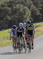 Under-19 Men's road race, Carterton-Martinborough-Gladstone circuit. Day three of the 2018 NZ Age Group Road Cycling Championships in Carterton, New Zealand on Sunday, 22 April 2018. Photo: Dave Lintott / lintottphoto.co.nz