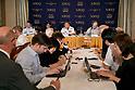 Admiral Katsutoshi Kawano speaks at FCCJ