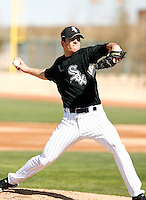 Lance Broadway  -  Chicago White Sox - 2009 spring training.Photo by:  Bill Mitchell/Four Seam Images