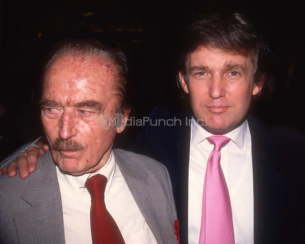 Fred Trump Donald Trump Undated<br /> Credit: Adam Scull/Photolink/MediaPunch