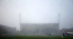 Fog smothers Starks Park ahead of the match