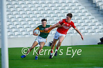Conor Hayes Kerry takes on Cork's Conor McGoldrick during the U20 MFC game in Pairc Uí Caoimh last Thursday evening