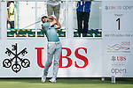 Joël Stalter of France tees off the first hole during the 58th UBS Hong Kong Golf Open as part of the European Tour on 08 December 2016, at the Hong Kong Golf Club, Fanling, Hong Kong, China. Photo by Marcio Rodrigo Machado / Power Sport Images