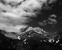 Potosi Peak from Yankee Boy Basin, Colorado.<br /> <br /> Mamiya RB67 Pro SD, 90mm lens, Kodak TMAX film, red filter