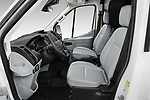 Front seat view of 2019 Ford Transit-Van - 4 Door Cargo Van Front Seat  car photos