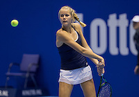Rotterdam, Netherlands, December 13, 2016, Topsportcentrum, Lotto NK Tennis,   Nina Kruijer (NED)<br /> Photo: Tennisimages/Henk Koster