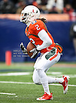 Miami Hurricanes running back Graig Cooper (2) in action during the 2010 Hyundai Sun Bowl football game between the Notre Dame Fighting Irish and the Miami Hurricanes at the Sun Bowl Stadium in El Paso, Tx. Notre Dame defeats Miami 33 to 17...