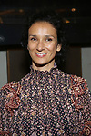 """Indira Varma attends the Broadway Opening Night for the MTC  production of  """"The Height Of The Storm"""" at Samuel J. Friedman Theatre on September 24, 2019 in New York City."""