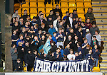 St Johnstone v Inverness Caley Thistle…09.03.16  SPFL McDiarmid Park, Perth<br />Sainst fans in good voice<br />Picture by Graeme Hart.<br />Copyright Perthshire Picture Agency<br />Tel: 01738 623350  Mobile: 07990 594431