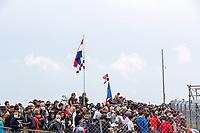 Fans pack the banking, 24 Hours of Le Mans , Race, Circuit des 24 Heures, Le Mans, Pays da Loire, France