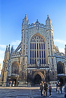 Bath: Abbey, 15th century.