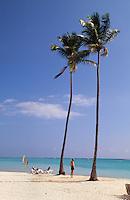 Strand von Bavaro in Punta Cana, Dominikanische Republik