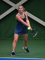 20131201,Netherlands, Almere,  National Tennis Center, Tennis, Winter Youth Circuit, Shura Poppe  <br /> Photo: Henk Koster