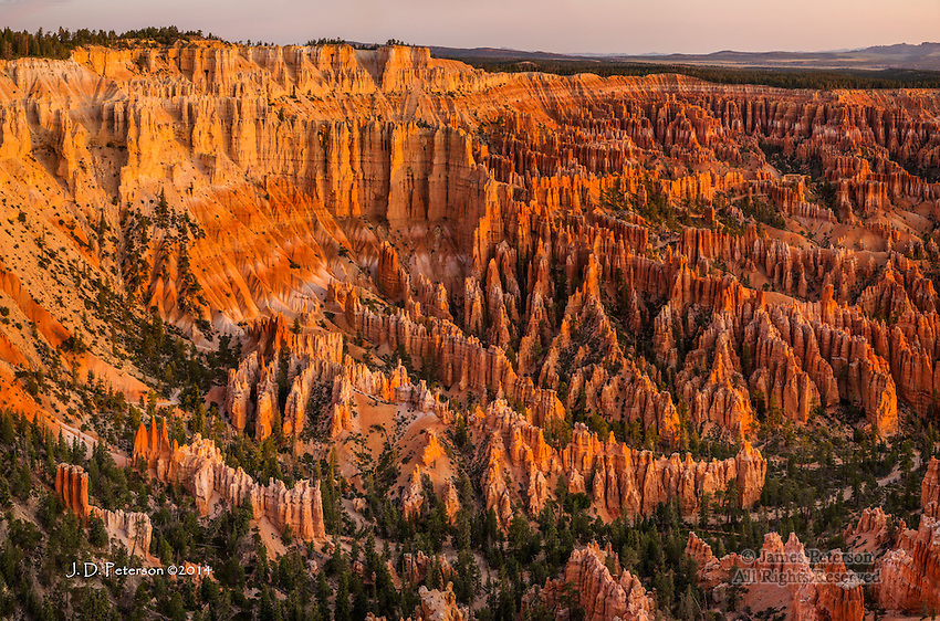 Sunrise Panorama, Bryce Canyon, Utah