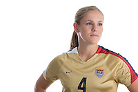 Cat Whitehill. U.S. Women's National Team portrait photoshoot. June 8, 2007 in Carson, CA.