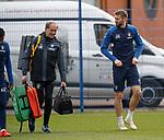 29.03.2019 Rangers training: Gareth McAuley
