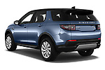 Car pictures of rear three quarter view of a 2020 Land Rover Discovery Sport S 5 Door SUV angular rear