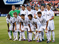 Real Madrid Starting Eleven. Real Madrid defeated Club America 3-2 at Candlestick Park in San Francisco, California on August 4th, 2010.
