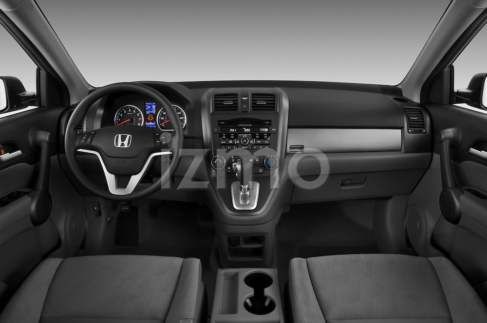 Honda CRV 2010 EX Straight Dashboard View Stock Photo