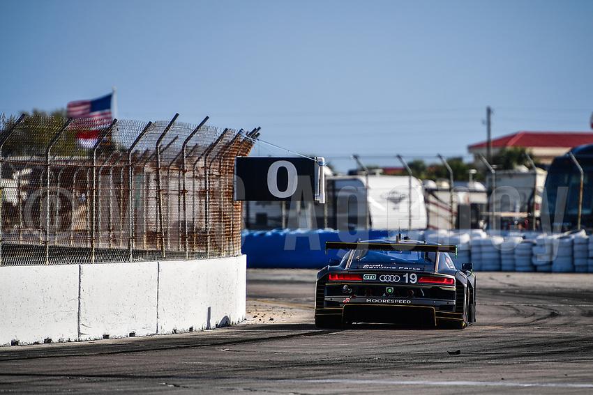 #19 MOORESPEED (USA) AUDI R8 LMS GT3 GTD ANDREW DAVIS (USA) ALEX RIBERAS (ESP) WILL HARDEMAN (USA)